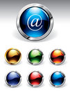 Shiny Buttons Stock Photos