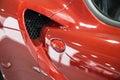 Shiny Car Detail Royalty Free Stock Photo