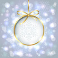 Shiny christmas background Stock Images