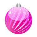 Shiny christmas globe Stock Images