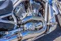 Shiny Chrome Engine Of A Harle...