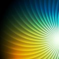 Shiny colorful swirl vector background abstract design Royalty Free Stock Image