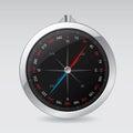 Shiny compass design Royalty Free Stock Photo