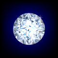 Shiny diamond Royalty Free Stock Image