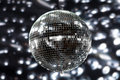 Shiny disco ball Royalty Free Stock Photos