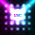 Shiny Disco Party Background