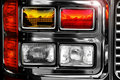 Shiny fire engine lights Royalty Free Stock Photos