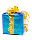 Shiny gift box Stock Photos