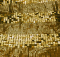 Gold sequin Royalty Free Stock Photo