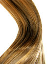 Shiny hair wave Royalty Free Stock Photography