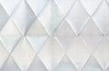 Shiny metalic door wall pattern texture block rhomb light Royalty Free Stock Photography