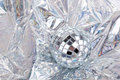 Shiny Mirrorred disco ball Royalty Free Stock Photos