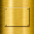 Shiny polished golden background Royalty Free Stock Photo