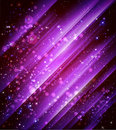 Shiny purple background Stock Images