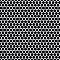 Shiny silver metal pattern with reflective round holes Royalty Free Stock Photo