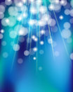 Shiny turquoise background rays blurred shine Royalty Free Stock Photo