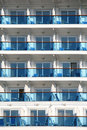 Ship Balconies Royalty Free Stock Photography