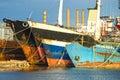 Ship-breaker Royalty Free Stock Photo