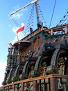 Ship with clear skies Royalty Free Stock Photos