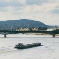Ship at the Danube Royalty Free Stock Photo