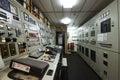 Ship Engine room control room