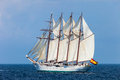 Ship Juan Sebastian de Elcano Royalty Free Stock Photos