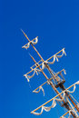 Ship mast Royalty Free Stock Photo