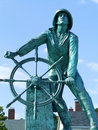 Ship Mate Statue in Maine. Royalty Free Stock Photos