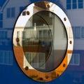 Ship porthole Stock Image