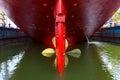Ship propeller Royalty Free Stock Photo