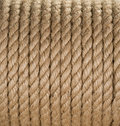 Ship ropes sack as background Royalty Free Stock Photography