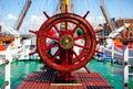 Ship rudder. Royalty Free Stock Photo