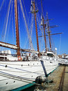 Ship school Juan Sebastian de Elcano in Cadiz
