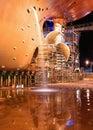Ship at shipyard for repairs Royalty Free Stock Photo