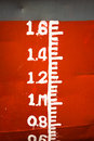 Ship Waterline Ruler Royalty Free Stock Photo