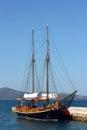 Ship in Zadar Royalty Free Stock Photo