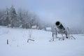 Shipka Pass in winter Royalty Free Stock Photo