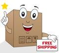 Shipment Cardboard Box Free Shipping
