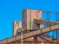 Shipment of ore Royalty Free Stock Photo