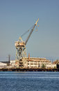 Shipping Cargo Crane Port of Los Angeles Royalty Free Stock Photography