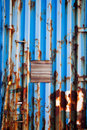 Shipping Container Texture Royalty Free Stock Photography