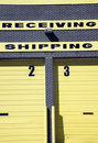 Shipping and Receiving Royalty Free Stock Photo