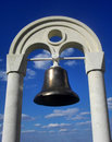 Ships old bronze bell Royalty Free Stock Photo