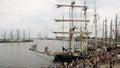 Ships rally Royalty Free Stock Photo