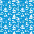 Ships seamless pattern.