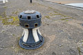 An ships winch bollard old or at lydney docks in gloucestershire uk Royalty Free Stock Photos