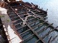The Adolphe Historical Shipwreck At Stockton Breakwall Newcastle, New South Wales NSW Australia