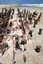 Shipwreck Remains Royalty Free Stock Photo
