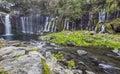 Shiraito waterfall 3 Royalty Free Stock Photo