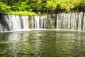 Shiraito Waterfall Royalty Free Stock Photo
